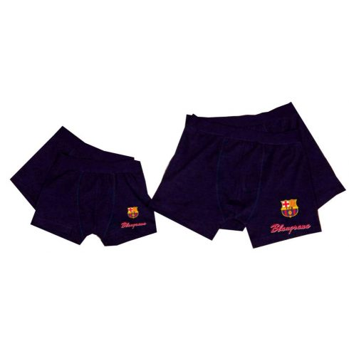 FC Barcelona felnőtt boxer alsó Navy
