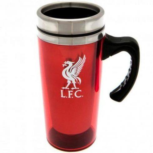 Liverpool műanyag termosz bögre Liverbird