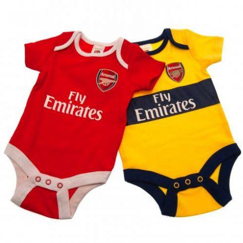 Arsenal bébi body rugdalózó 2db-os