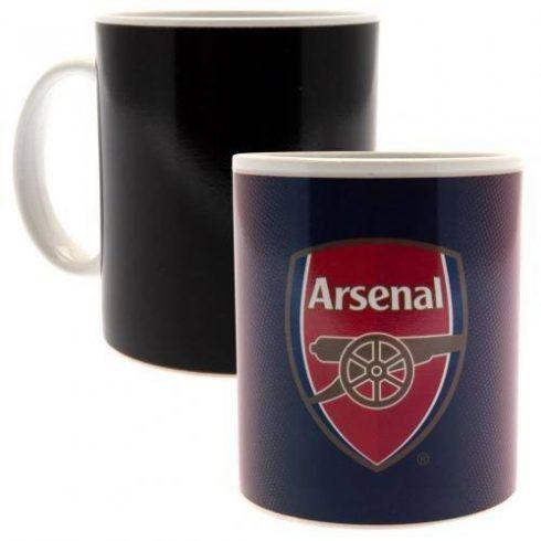 Arsenal kerámia bögre színváltós
