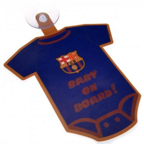 FC Barcelona baby on board autós mini body