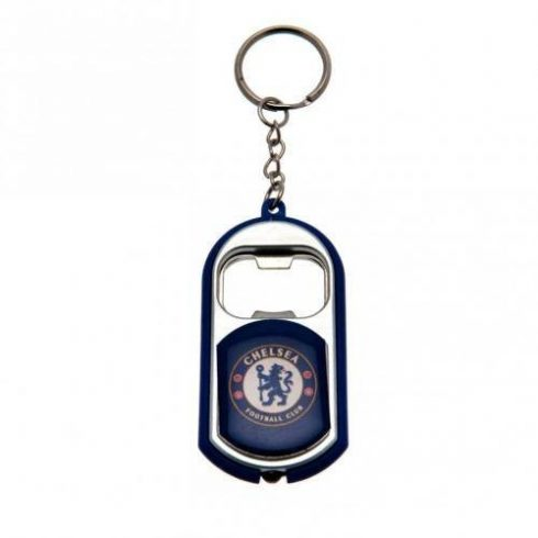 Chelsea sörnyitós kulcstartó led lámpával
