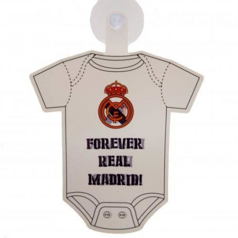 Real Madrid Baby on board autós tábla