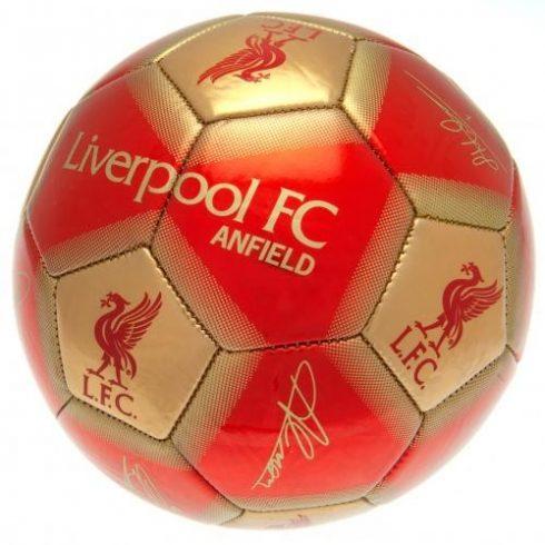Liverpool labda signature aláírásos 2020 5' Golden