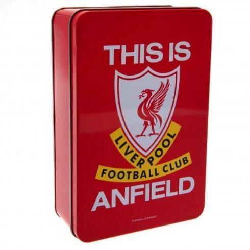 Liverpool FC fém tároló doboz Anfield