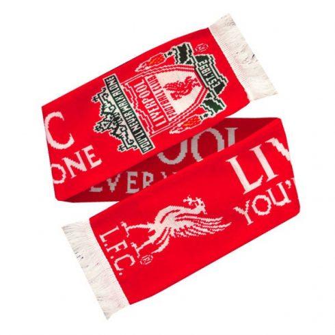 Liverpool szurkolói sál Double Crest YNWA