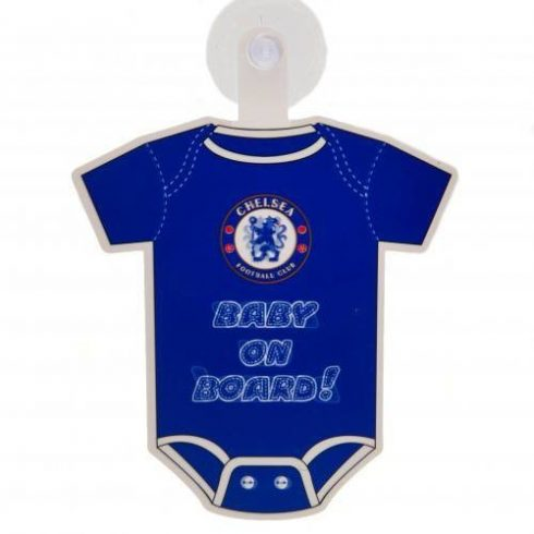 Chelsea FC Baby on board autós mini body