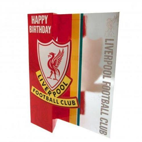 Liverpool FC szülinapi üdvözlő kártya Anfield