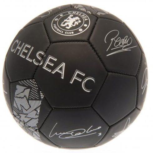 Chelsea FC aláírt labda 5' Carbon-Negro Signature