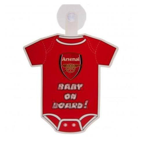 Arsenal baby on board autós mini body