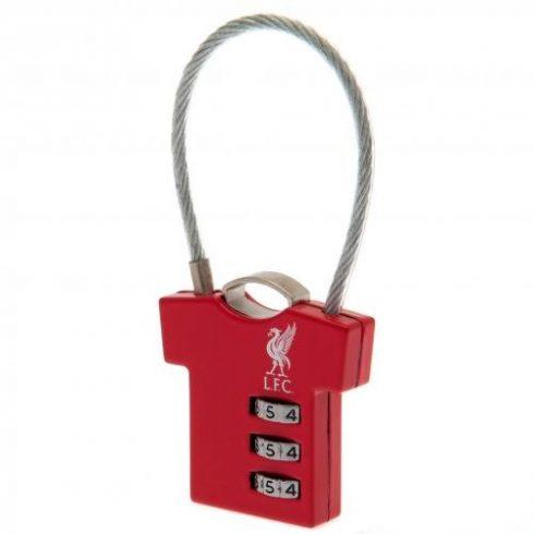 Liverpool FC utazó bőrönd lakat mez alakú