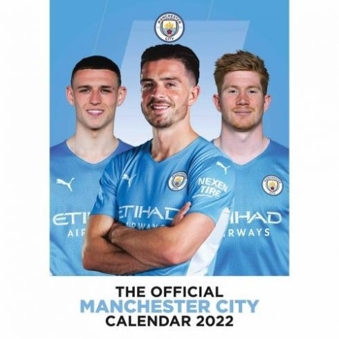 Manchester City FC fali naptár 2021 A/3