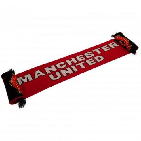 Manchester United FC dupla oldalas kötött sál SignCrest