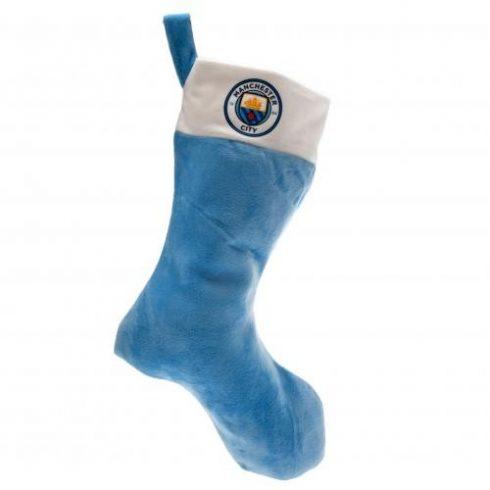 Manchester City FC mikulás zokni