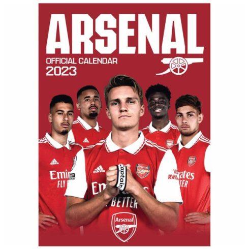 Arsenal FC fali naptár 2021 A/3