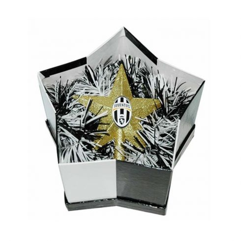 Juventus FC karácsonyfa csúcsdísz OldCrest