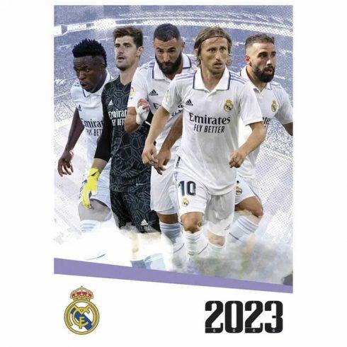 Real Madrid FC fali naptár 2021 A/3