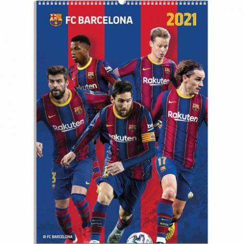 FC Barcelona fali naptár 2021 A/3