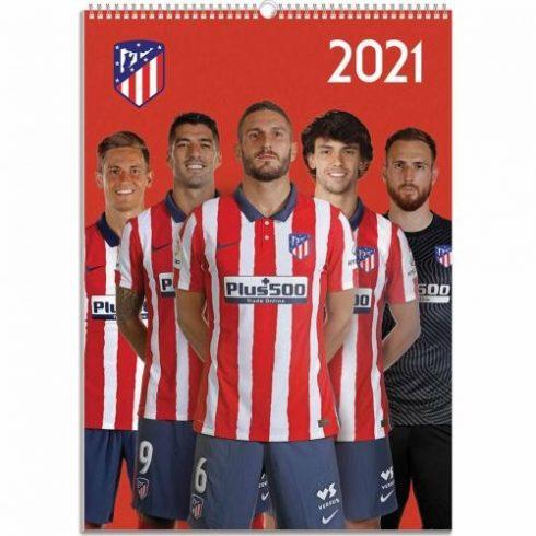 Atletico Madrid FC fali naptár 2021