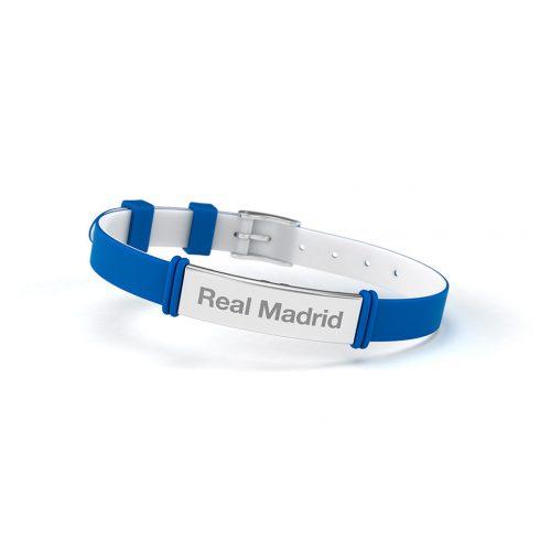 Real Madrid szilikon karkötő Elegante Azul