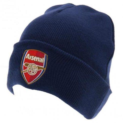 Arsenal FC kötött téli sapka visszahajtós