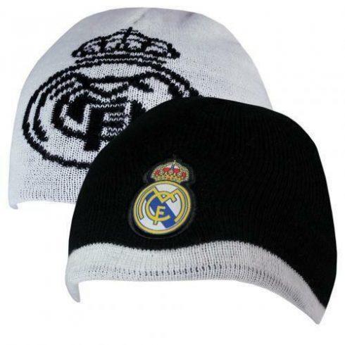 Real Madrid FC kötött téli sapka gyerek kifordítható Crest