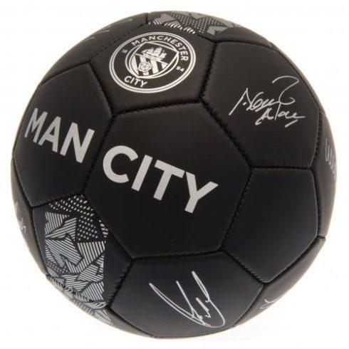 Manchester City aláírásos 5' labda MattMetal