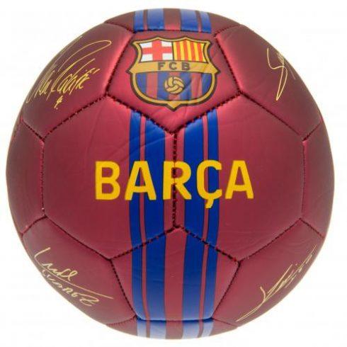 FC Barcelona matt aláírt 5' labda Sign's2020