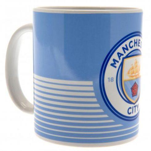 Manchester City FC kerámia bögre CrestLine