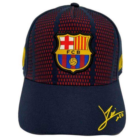 FC Barcelona Junior baseball sapka aláírt Messi 10