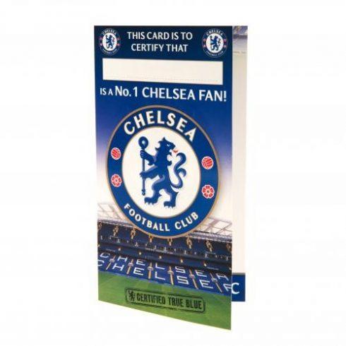 Chelsea FC szülinapi üdvözlőkártya NR.1Fan