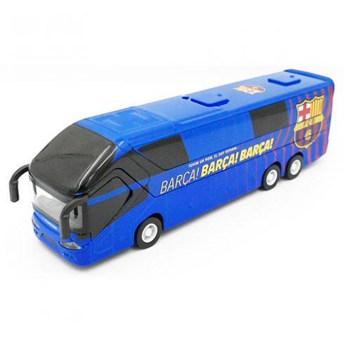FC Barcelona nagy masszív szurkolói busz BARCA