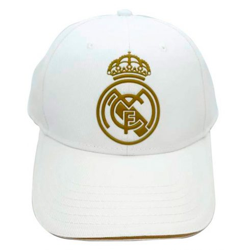Real Madrid FC baseball sapka Gold