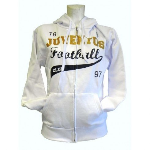 Juventus FC cipzáros pulóver Vecchio Bianco