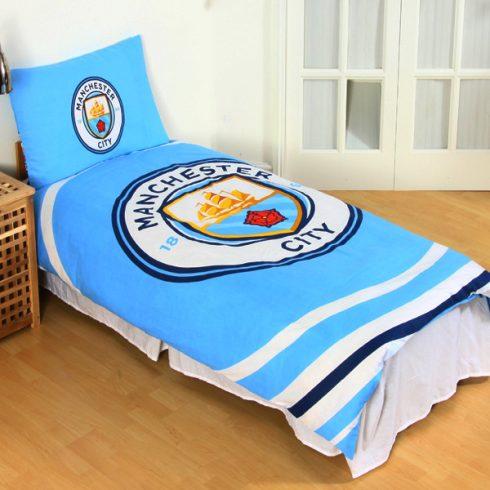 Manchester City FC kétoldalas ágynemű szett Pulse