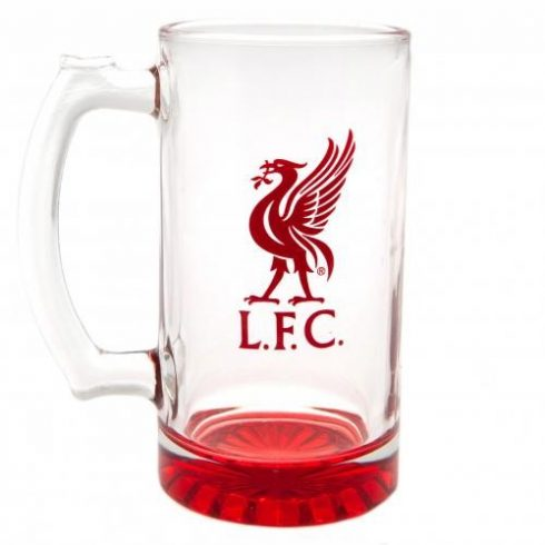 Liverpool FC füles sörös korsó Crest