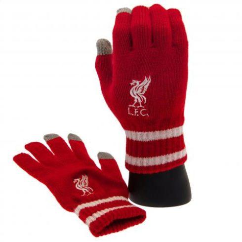 Liverpool kötött téli kesztyű UniCrest Adult RED