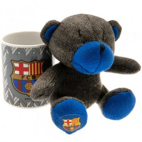 FC Barcelona bögre és maci szett