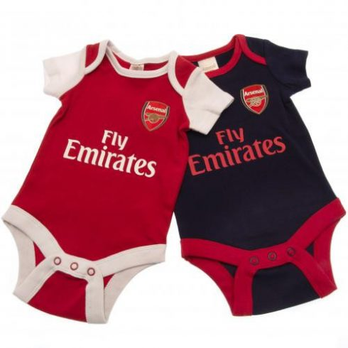 Arsenal bébi body rugdalózó 2db-os 2021