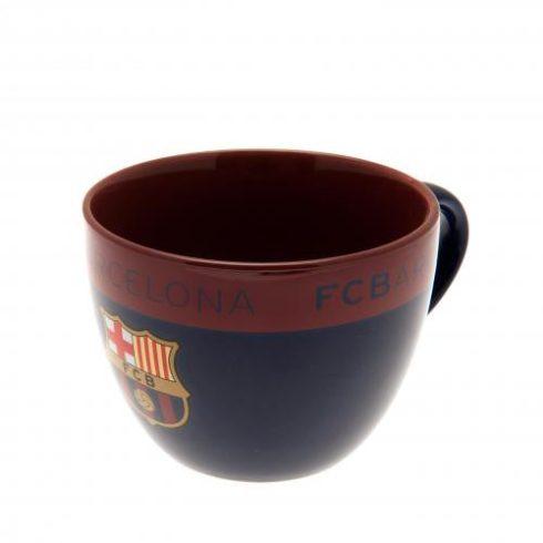 FC Barcelona nagy cappuccino bögre Crest
