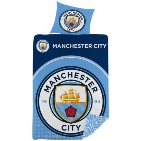 Manchester City FC kétoldalas ágynemű szett Sign