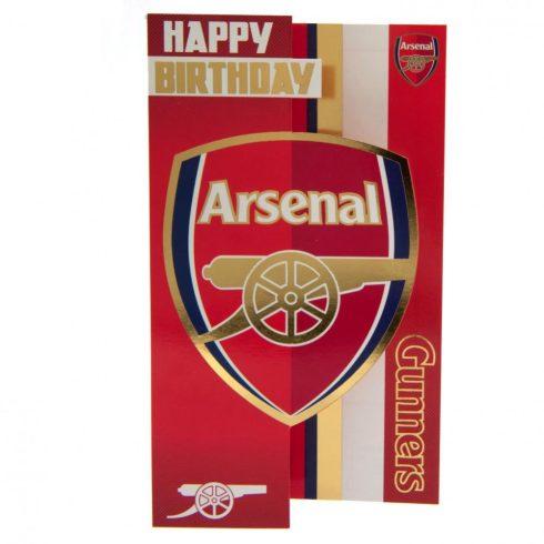 Arsenal FC szülinapi üdvözlő kártya