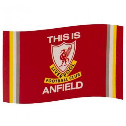Liverpool FC zászló Anfield