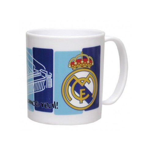 Real Madrid FC müanyag bögre Stadio