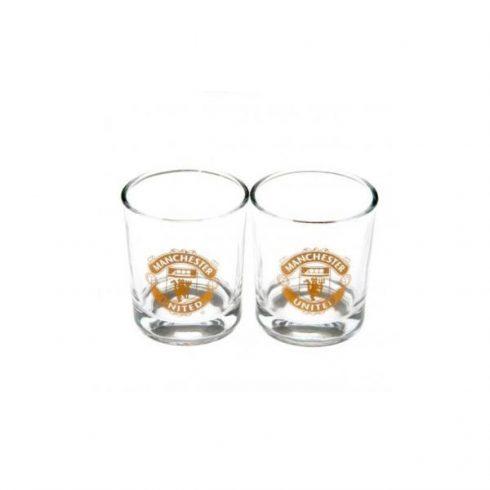 Manchester United FC whiskey pohár 2 db-os szett