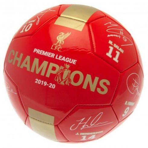 "Liverpool FC labda 5"" Premier League Signature Gold"